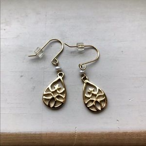 Ralph Lauren gold tone earrings